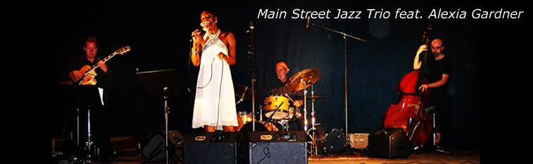 Main Street Jazz Trio, feat. AlexiaGardner